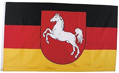 MFH Fahne 90x150 cm Deutsche Bundesländer (Niedersachsen)
