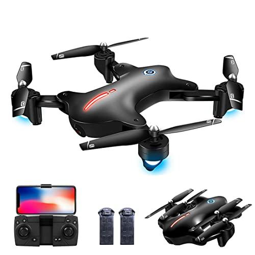 XIAOKEKE Drone Plegable GPS con Camara 4K Profesional, 120º Gran Angular, 5Ghz WiFi FPV Quadcopter con Cámara HD, Modo Sígueme, Modo Sin Cabeza, Retorno A Casa, RC Drone para Adultos & Niños
