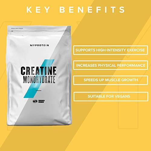 Myprotein Creatine Monohydrate Unflavoured, 1er Pack (1 x 1 kg) - 4