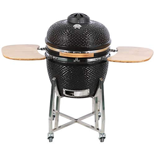 "Fire Mountain 24"" Kamado Ceramic Barbecue"