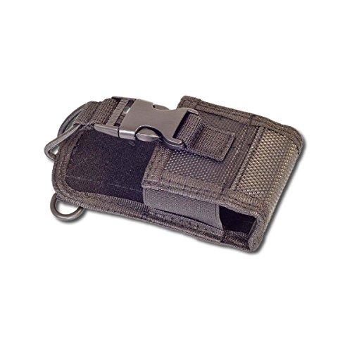 vhbw Funkgerät Tasche passend für Kenwood, Motorola, Yaesu, Vertex, Icom, Alinco, Albrecht, Detewe, Baofeng, Midland, Topcom, UVM. 39 x 59 x 135mm