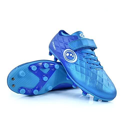 OPTIMUM Unisex Kid's Ignisio Football Boot, Arctic Blue, UK Child 10