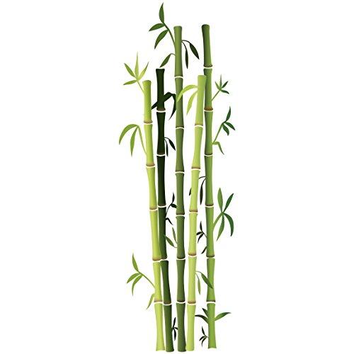 Bilderwelten Wandtattoo Bambusstrauch, Größe: 150cm x 50cm