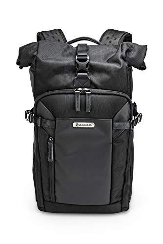 Vanguard Veo Select 43RB BK - Mochila extendible para fotografia profesional, color Negro