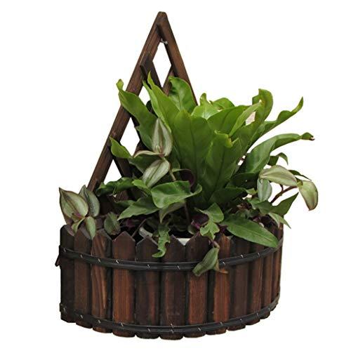 G-HJLXYZWJHOME Bloempot voor wandmontage voor binnen en buiten, tuindecoratie, bloemenbak, plantenhouder, decoratieve wand 30 × 15 × 35 cm