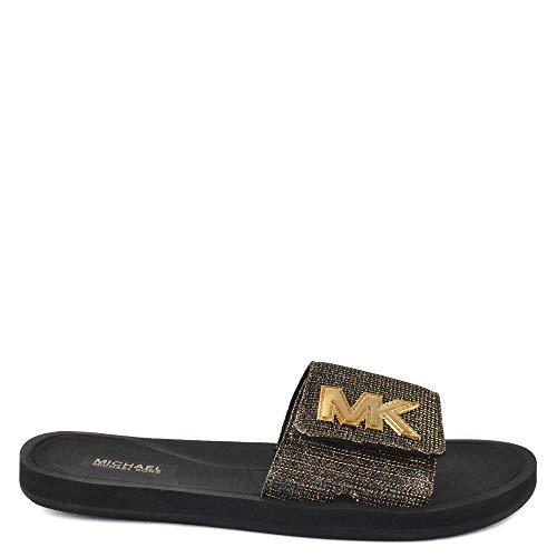 Michael Michael Kors MK Slide Black 1 7 M
