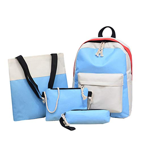 AIni Rucksack Damen Mode Rucksack Patchwork Composite Bag Beiläufiges Bag Umhängetasche Business Wandern Reisen Camping Tagesrucksack Schulrucksack