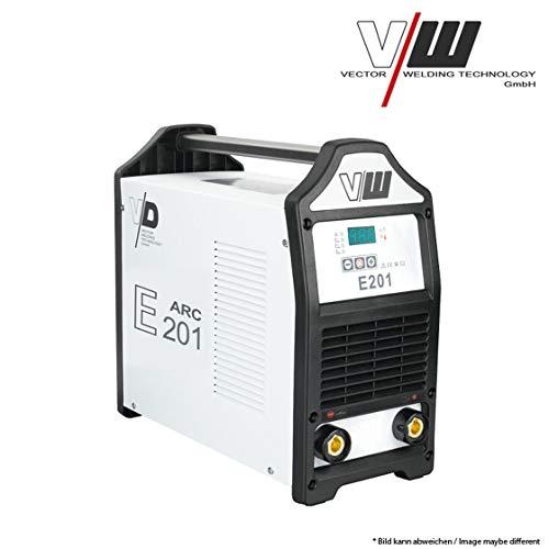 VECTOR Digital Profi Schweißgerät DC E201 Inverter ARC MMA STICK Elektrode E-HAND 230V
