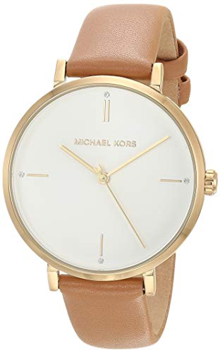 Michael Kors Women's Jayne Three-Hand Gold-Tone Alloy Watch MK7099