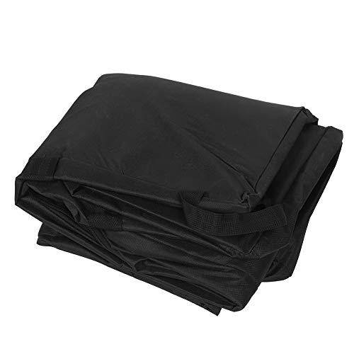 TAKE FANS Bolsa de almacenamiento de asiento de gran tamaño gruesa cochecito de bebé a prueba de polvo bolsa de asiento de coche, mochila clásica negra