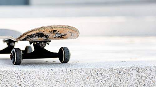 YINGXINXWM DIY Ölgemälde Malen Nach Zahlen Ölgemälde Skateboard Board Räder Studenten Erwachsene Anfänger...