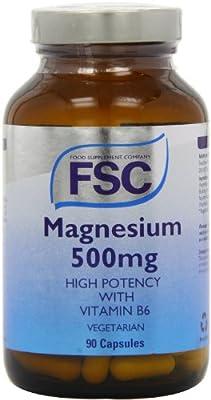 FSC 500mg Magnesium 90 Capsules
