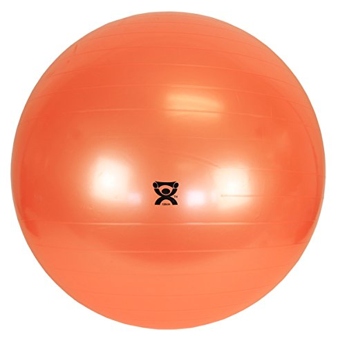 Cando® Gymnastikball, Durchmesser 120 cm, orange