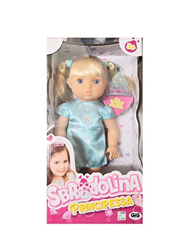 Bambola Sbrodolina Principessa con Corona Giocattolo