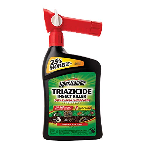 Spectracide HG-96744 Triazicide Insect Killer for Lawns, 40 Oz