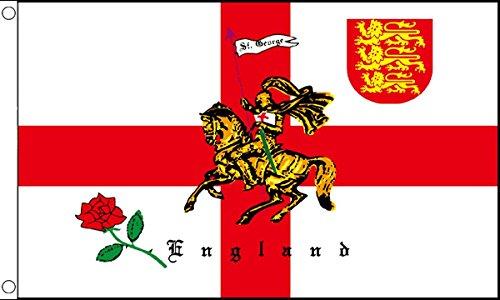 GIZZY  Inghilterra, San Giorgio, leone, caricatore) motorizzazione bandiera x 2 '