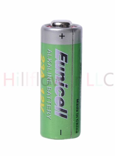 Hillflower 500 Piece 23A A23 MN21 GP23 23 23AE Bulk 0% Mercury 0% Hg 12V Long Duration Alkaline Battery