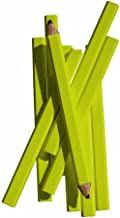 Bon 84-842 7-Inch Carpenter Pencil, Black Medium Lead with Yellow Casing, 72-Pack