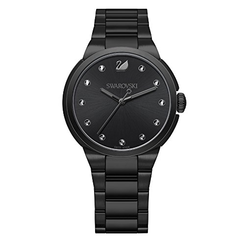 Swarovski City Black Uhr