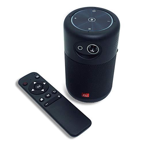 GWX 4K Mini proyector, proyector Multimedia Inicio, Inicio de Protección Infantil del...