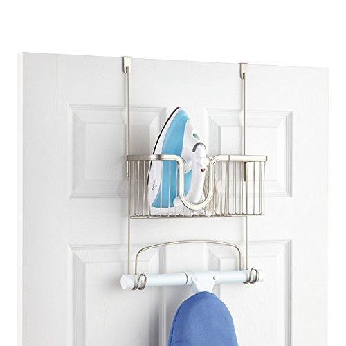 InterDesign York Lyra Centro de Planchado para Plancha y Tabla de Planchar...