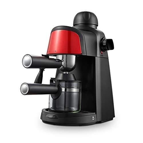 WGYDREAM Cafetera Cafetera Espresso Máquina automática Cafetera Casa Mini Máquina de café con Leche de Vapor Cappuccino y Latte