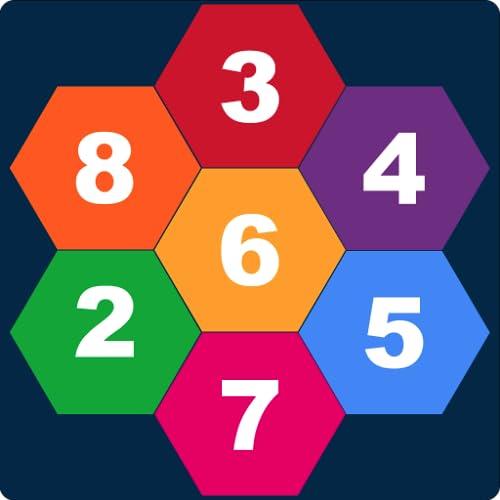 Hexa Games: Hexagon Number Puzzles Collection