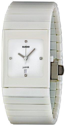 Rado Men's R21711702 Ceramica White Dial Watch
