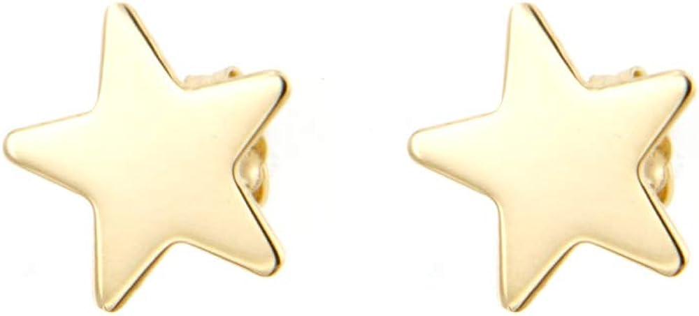 Lucchetta gioielli orecchini con stella pendente per donna in oro giallo 4O4605MLA