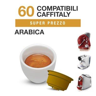 Caffitaly 60 Cápsulas café compatibles Arabica …