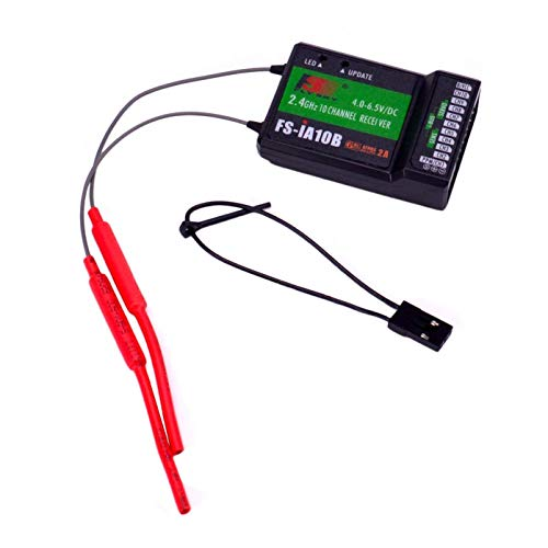Xiangtat Flysky FS-iA10B Receiver 2.4G 10CH PPM Output Compatible for Flysky FS-i6 FS-i6S FS-i10 Transmitter