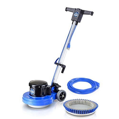 Prolux Core Single Pad 13 Inch Multi Surface Commercial Floor Buffer Polisher and Scrubber with...