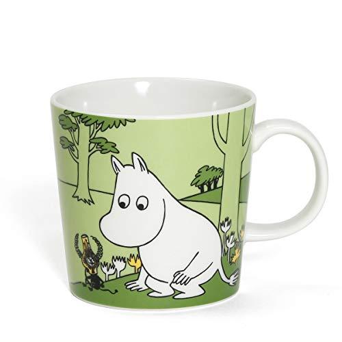 [ アラビア ] Arabia ムーミン マグ 300mL マグカップ ムーミン 1051387 Moomintroll Green 北欧 食器 フィンランド Moomin Mugs おしゃれ かわいい 贈り物 プレゼント ギフト [並行輸入品]