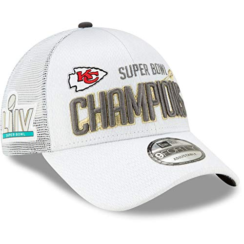 New Era Kansas City Chiefs Super Bowl 2020 Adjustable 9Forty Cap