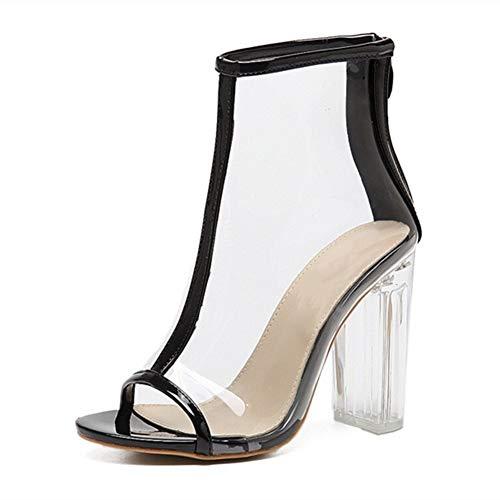 Comfortabel en veelzijdig temperament Fashion Enkellaarsjes for Vrouwen Sandalen Chunky 11cm / 4.33