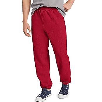 Hanes ComfortBlend EcoSmart Men s Sweatpant_Deep Red_XXX-Large