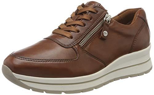 Tamaris Damen 1-1-23740-24 Sneaker, Braun (Cognac 305), 42 EU
