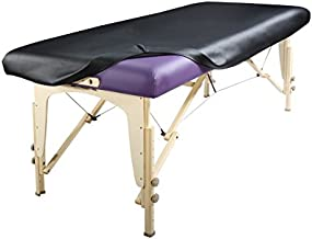 Master Massage Universal Fabric Fitted PU Vinyl leather Ultra-Durable Protection Cover Sheet for Massage Tables, 1 Count