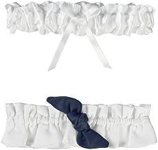 Ivy Lane Design Love Knot Garter Set, Navy by Ivy Lane Design