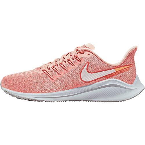 Nike Women's WMNS Air Zoom Vomero 14 Running Shoes, Pink (Pink Quartz/Vapste Grey/Celestial Gold/Atmosphere Grey 601), 4 UK