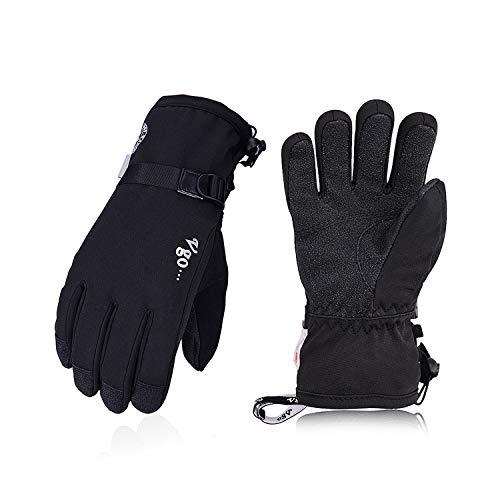 Vgo... - Radsport-Handschuhe für Jungen in Schwarz, Größe XS