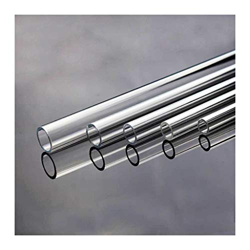 ling Enfriamiento De Agua Tubos Duros Transparentes 50 Cm, OD 10mm 12mm 14mm 16mm 18 Mm 20 Mm Tubería De Agua Acrílica (Size : OD14mm)