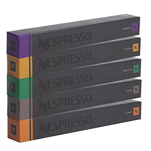 NESPRESSO Espresso Surtido 50 Cápsulas - 10 Cápsulas Vollu