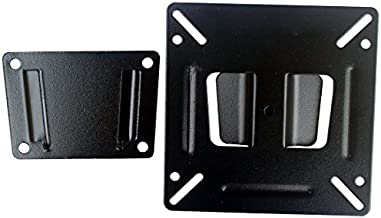Orienttvbracket TV Wall Mount Bracket Fixed Position for Most 14 to 24 Inch LED LCD OLED Plasma Flat Screen Panel with VESA up to 100x100mm and 35 lb
