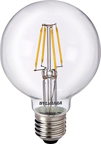 SYLVANIA SYL0027172 Ampoule LED Retro Globe, Verre, Blanc, 8 x 14, 5