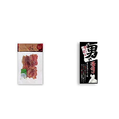 [2点セット] 薫製達人 豚バラベーコン燻製(60g)[飛騨山椒付き]・男の茶漬け(4.8g×8袋)