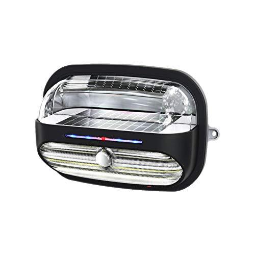 WORHAN ® Lumiere Lampe Solaire 400 lumens 40W Etancheite IP65 Exterieure Bâtiment Mur Jardin Produit de Haute Gamme LH4S