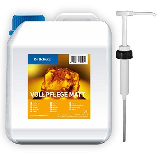 Dr. Schutz Vollpflege matt 5 Liter inkl. Dosierpumpe