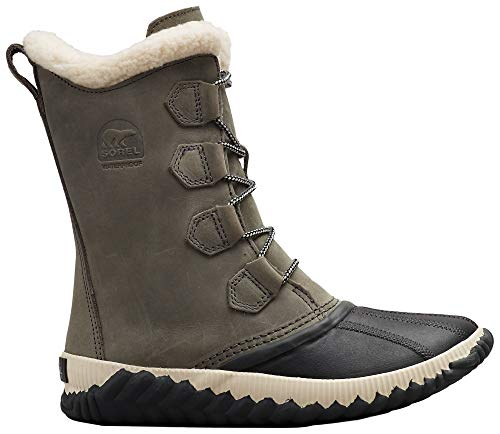 Sorel Women's Out 'N About Plus Tall Boots, Quarry/Coal, Grey, 9 Medium US