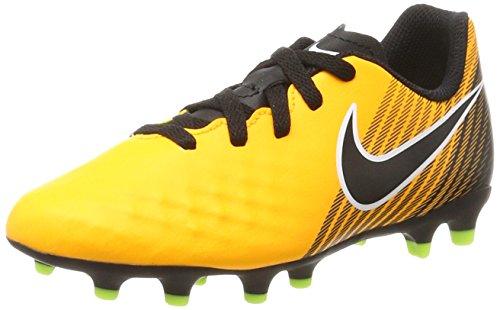 Nike Jr Magista Ola II FG, Botas de fútbol Unisex Adulto, Naranja Laser Orange Black White Volt, 37.5 EU